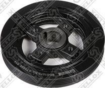 Stellox 2001075SX - Ременный шкив, коленчатый вал autodif.ru