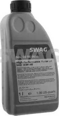 Swag 15 93 2925 - Моторное масло autodif.ru
