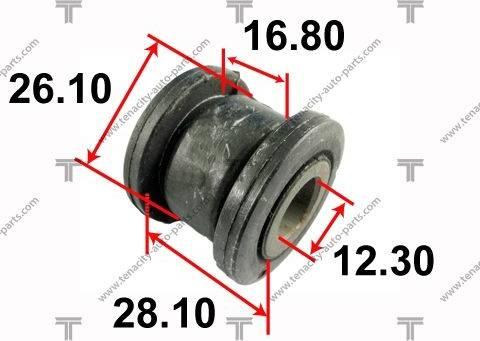 Tenacity AAMTO1044 - Втулка, вал сошки рулевого управления autodif.ru