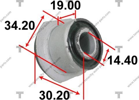 Tenacity AAMTO1116 - Втулка, вал рулевого колеса autodif.ru