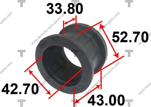 Tenacity ASTHO1002 - Втулка, вал рулевого колеса autodif.ru