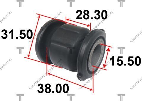 Tenacity ASTMA1003 - Втулка, вал рулевого колеса autodif.ru