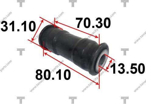 Tenacity ASTSU1001 - Втулка, вал рулевого колеса autodif.ru
