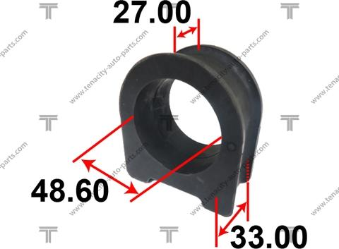 Tenacity ASTTO1008 - Втулка, вал рулевого колеса autodif.ru