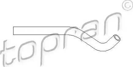 Topran 501556 - Гидравлический шланг, рулевое управление autodif.ru