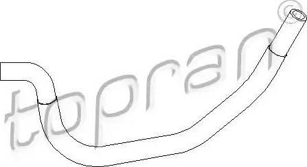 Topran 501558 - Гидравлический шланг, рулевое управление autodif.ru