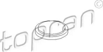 Topran 100 084 - Фланцевая крышка, ступенчатая коробка передач autodif.ru