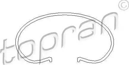 Topran 101 042 - Бортовое кольцо, диск сцепления autodif.ru