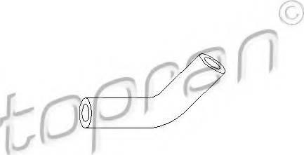 Topran 103 405 586 - Вакуумный провод, усилитель тормозного механизма autodif.ru