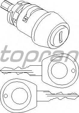 Topran 103560755 - Цилиндр замка autodif.ru