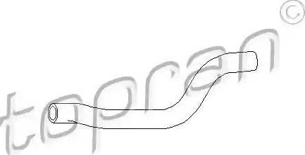 Topran 102 872 - Шланг, теплообменник - отопление autodif.ru