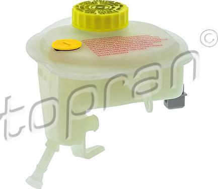Topran 114 278 - Компенсационный бак, тормозная жидкость autodif.ru