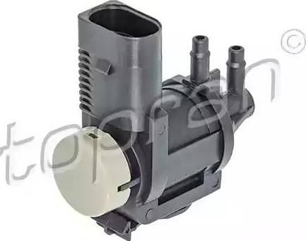Topran 115383 - Переключающийся вентиль, заслонка выхлопных газов autodif.ru