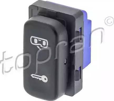 Topran 116054 - Выключатель, фиксатор двери autodif.ru