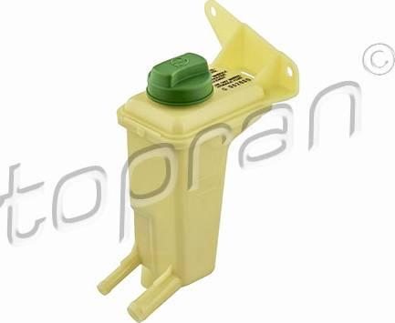 Topran 110689755 - Компенсационный бак, гидравлического масла услителя руля autodif.ru