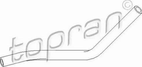 Topran 111980 - Гидравлический шланг, рулевое управление autodif.ru