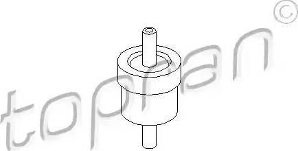 Topran 111 298 - Клапан, вакуумный насос autodif.ru