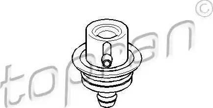 Topran 108 125 - Регулятор давления подачи топлива autodif.ru