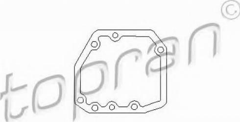 Topran 201539346 - Прокладка, привод коробки переключения передач autodif.ru