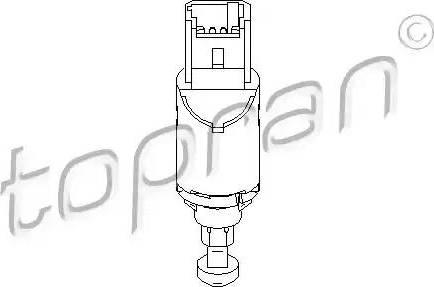 Topran 207 436 - Выключатель, привод сцепления (Tempomat) autodif.ru
