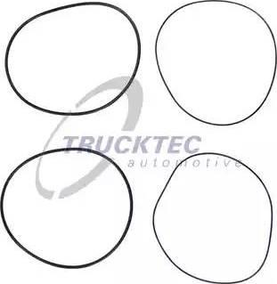 Trucktec Automotive 01.43.131 - Комплект прокладок, гильза цилиндра autodif.ru