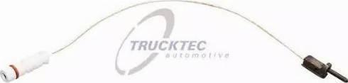 Trucktec Automotive 0242078 - Сигнализатор, износ тормозных колодок autodif.ru