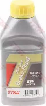 TRW PFB750 - Тормозная жидкость autodif.ru