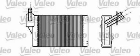 Ava Quality Cooling VWA6060 - Теплообменник, отопление салона autodif.ru