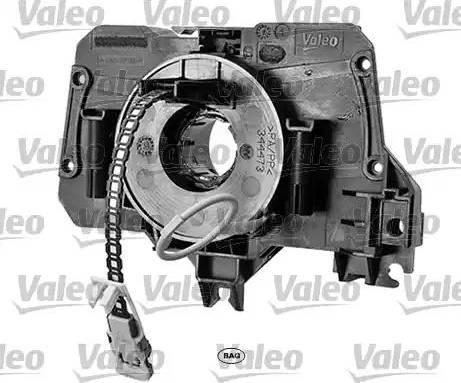 Valeo 251645 - Витая пружина, подушка безопасности autodif.ru