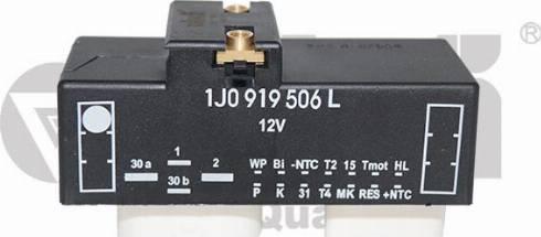 Vika 99190019801 - Реле, продольный наклон шкворня вентилятора autodif.ru