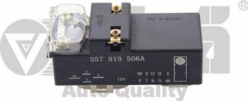Vika 99190020001 - Реле, продольный наклон шкворня вентилятора autodif.ru