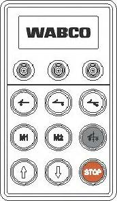 Wabco 4460561170 - Блок управления, пневматическая подвеска autodif.ru