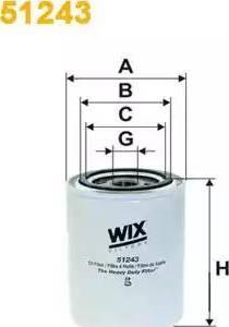 WIX Filters 51243 - Фильтр, Гидравлическая система привода рабочего оборудования autodif.ru