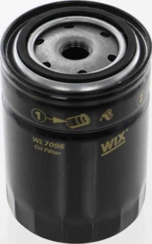 WIX Filters WL7096 - Фильтр, Гидравлическая система привода рабочего оборудования autodif.ru