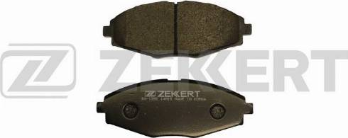 Zekkert BS-1285 - Комплект тормозных колодок, дисковый тормоз autodif.ru